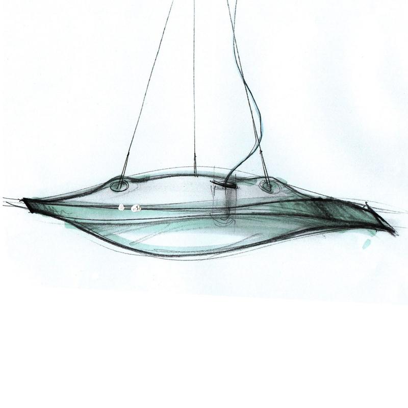Светильник Manta от Terzani