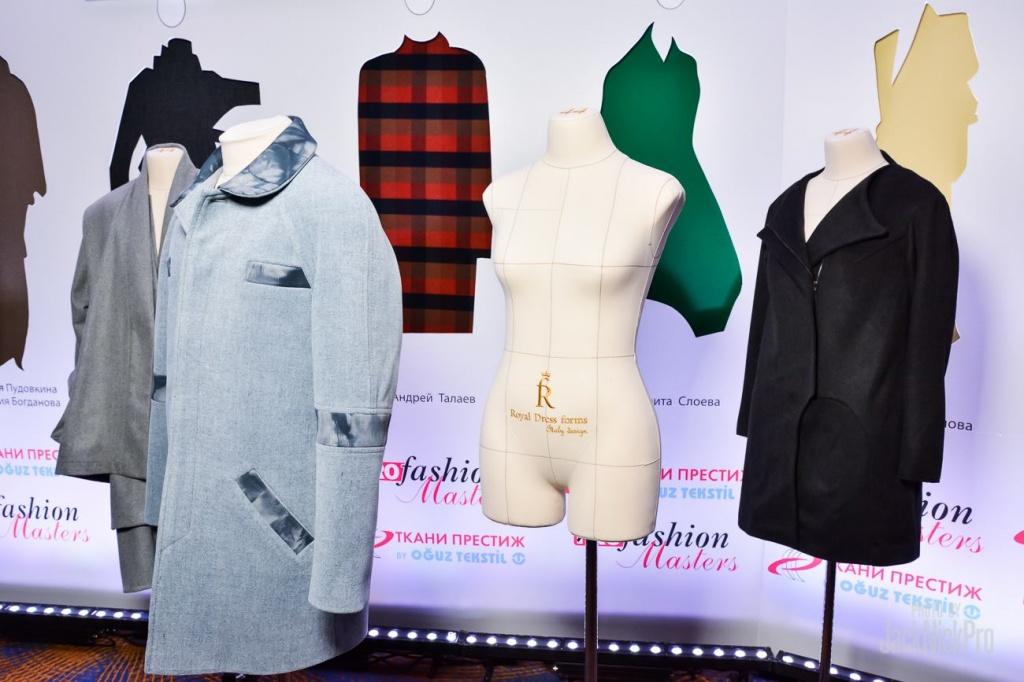 Манекене Royal Dress forms в партнерстве с PROfashion Masters