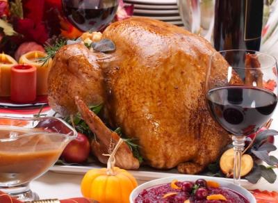 Курица с вином