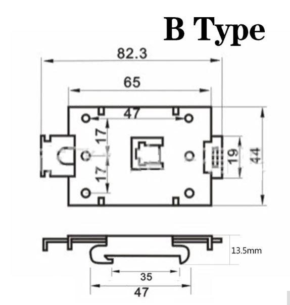 Крепёж SSR B-type