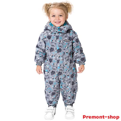Комбинезон Premont Малыш Барибал S18301 Весна-Осень на девочке