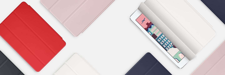 Полиуретановый обложка-подставкаApple iPad Pro 9.7Smart Cover Polyurethane - для iPadPro 9.7.