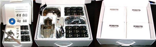 Содержимое набора BIOLOID Premium Kit