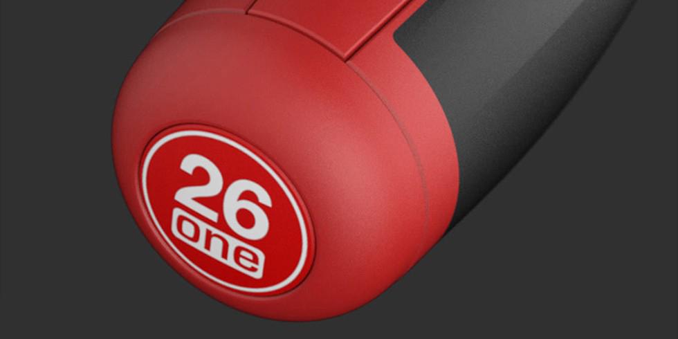 Отвертка с насадками Xiaomi Wiha 26 в 1 Screwdriver Kit (красный/черный)
