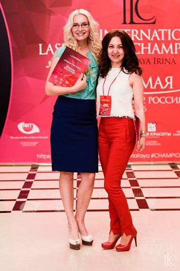 Виктория Довжик 2-е заняла место на чемпионате