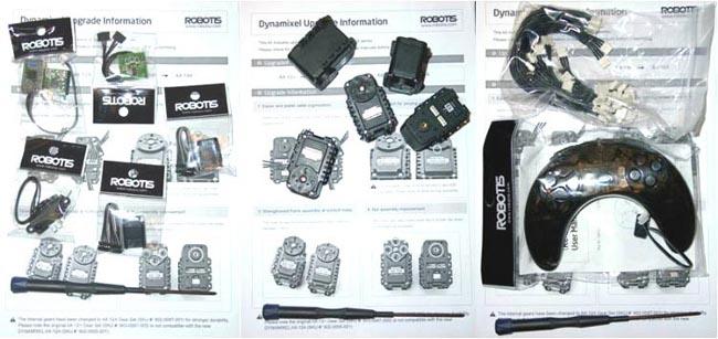 Сервомоторы от BIOLOID Robotis Premium