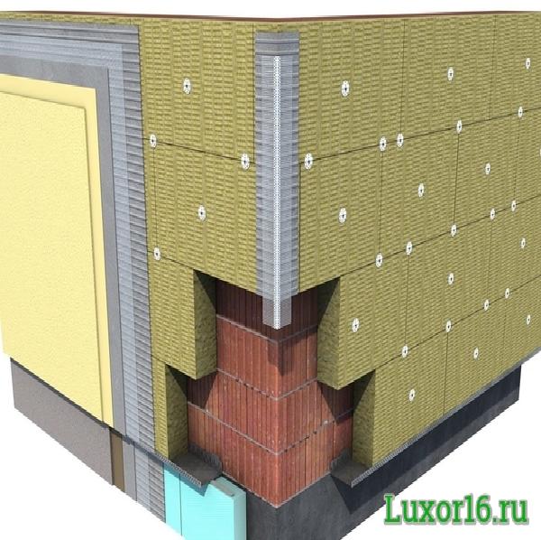 Пример работ Baswool Фасад 140