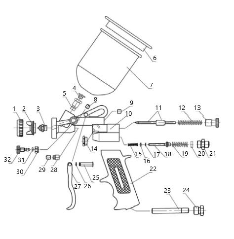 Схема AUARITA S-990P