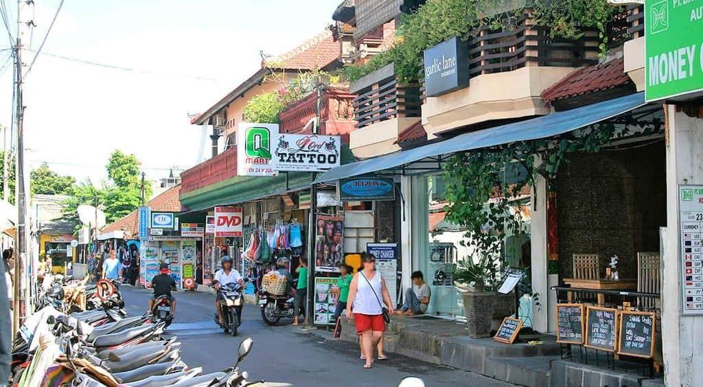 Улицы Куты, Бали