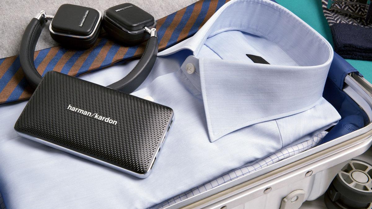 Портативная акустическая система Harman Kardon Esquire Mini.