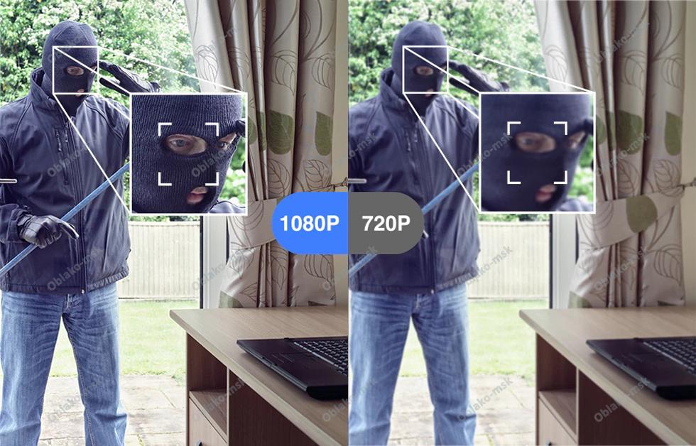 IP-видеокамера Laxihub M3-TY (Mini 7S) Indoor Wi-Fi 1080P c картой памяти microSD RU EAC