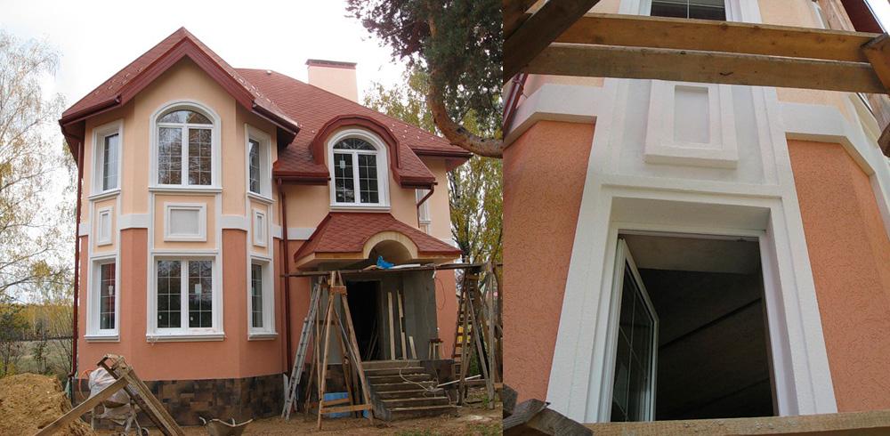 Дом готов, осталось благоустроить территорию.