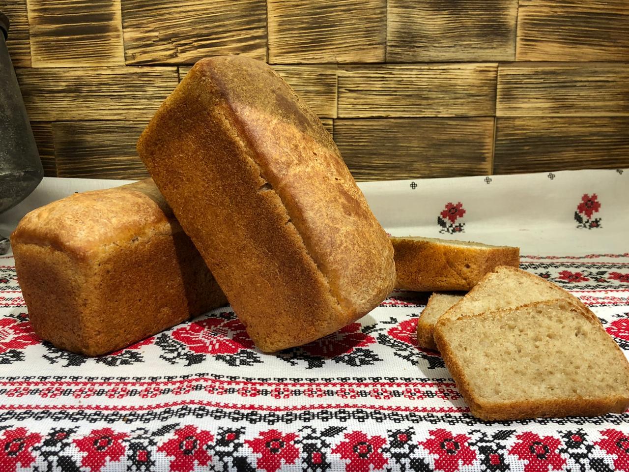 Хлеб на хмелевых шишках