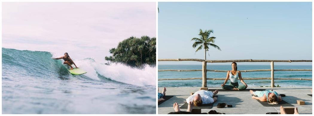 Серф-йога кемп на Шри Ланке