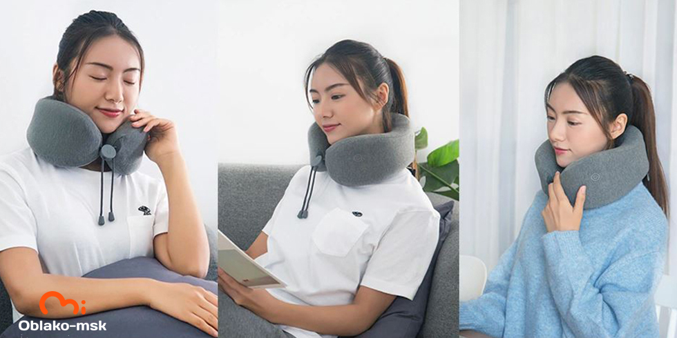 Массажная подушка Xiaomi LeFan Massage Sleep Neck Pillow