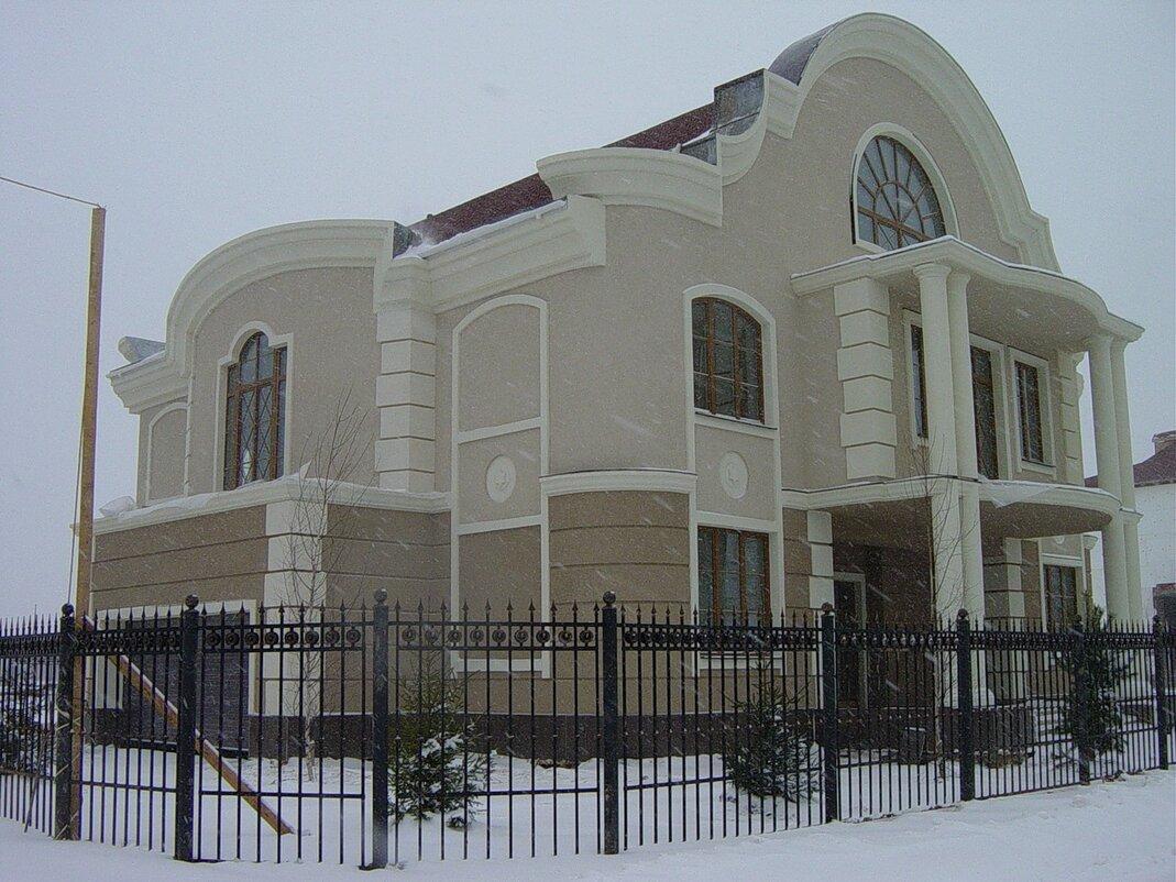 Частный дом фасад.