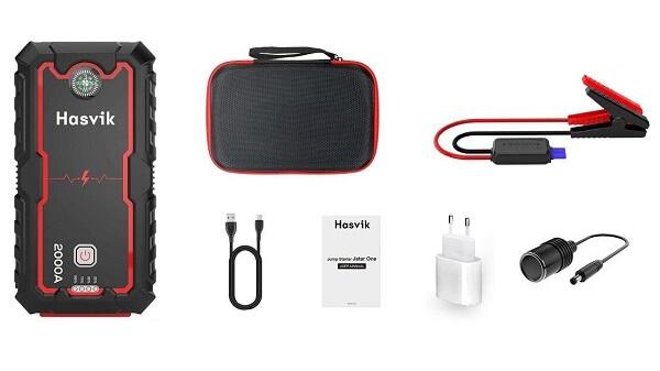Описание комплектации пускового устройства Hasvik Jp33Pro
