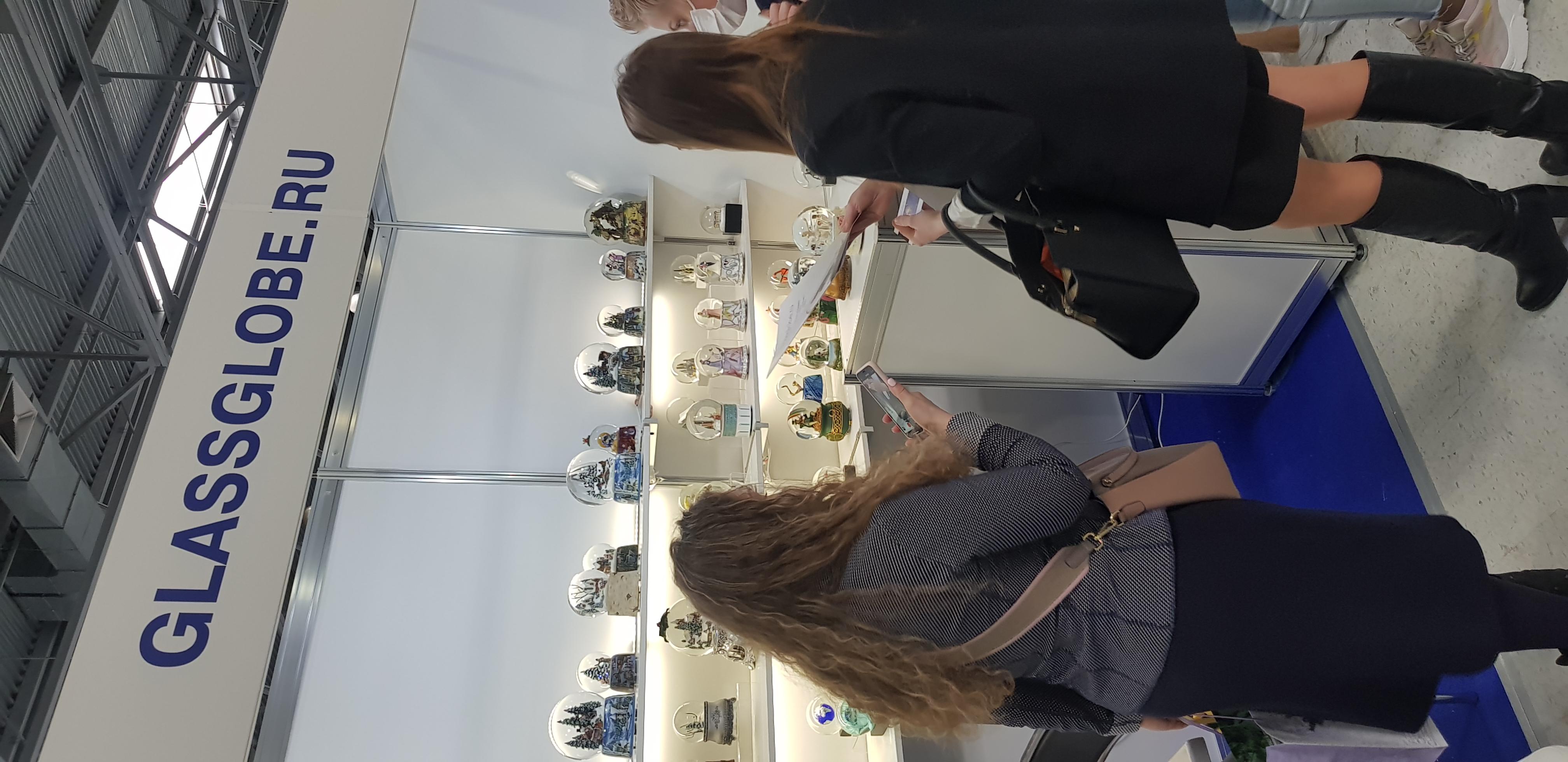 Выставка снежных шаров