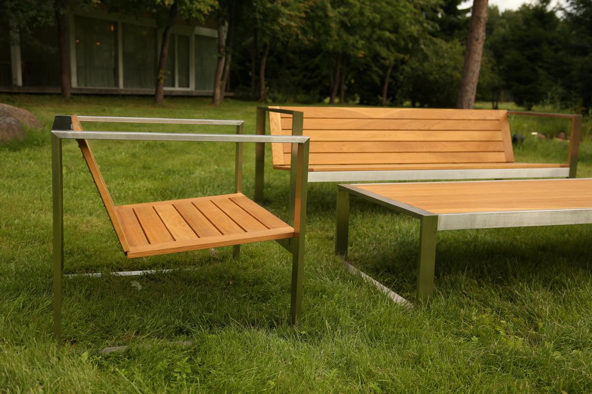 дизайнерская садовая мебель TRIF