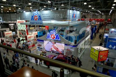 Moscow Off-road Show 2017 вид внутри
