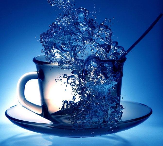 Вода для чая - мёртвая и живая