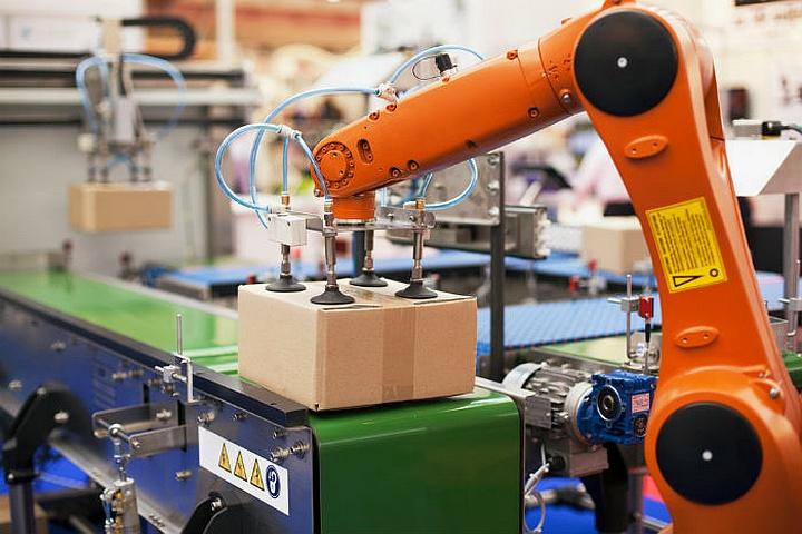 На складах габаритных грузов возможна полная автоматизация рабочих процессов