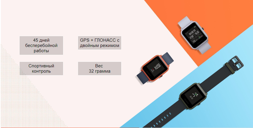 Смарт-часы Xiaomi Amazfit Bip Lite Youth Smart Watch (international version/светло-серый)