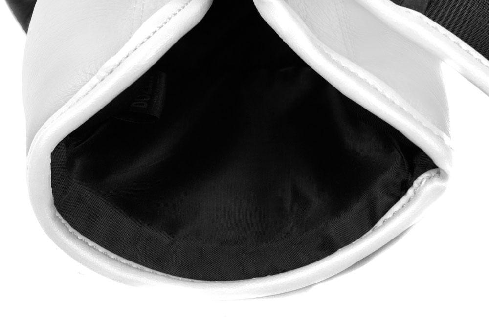 Подкладка черно-белых боксёрских перчаток Dozen Dual Impact