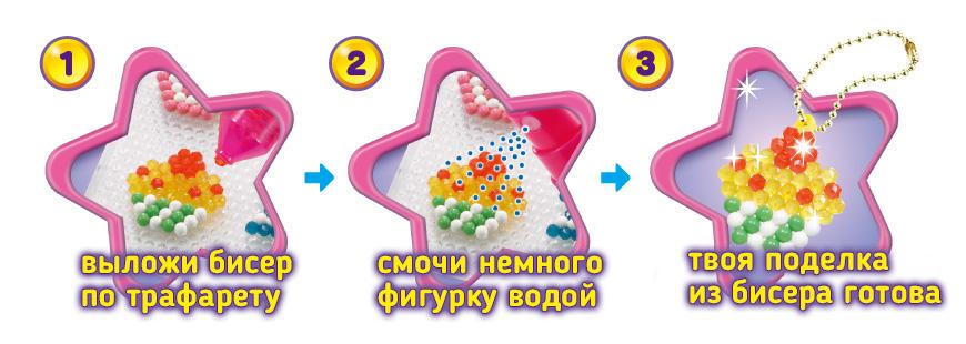 Аквамозаика для детей AquaBeads Аква Бидс студия Аквабитс