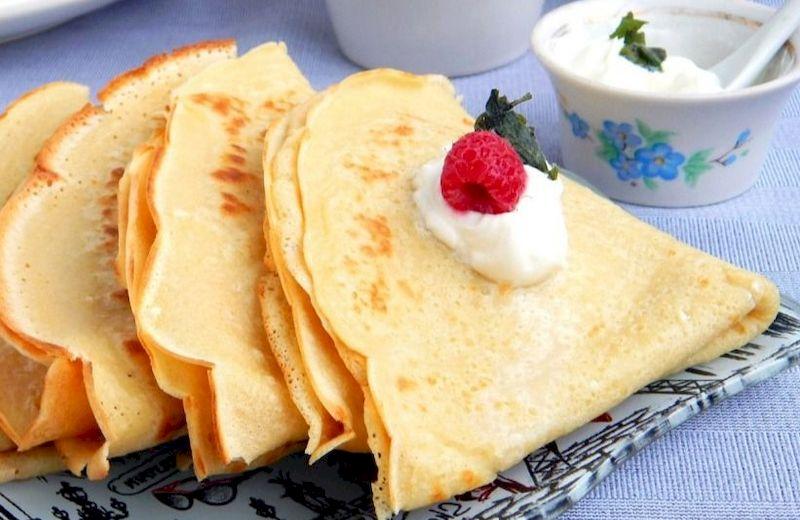 Безглютеновые блины на рисовой муке рецепт и приготовление в домашних условиях