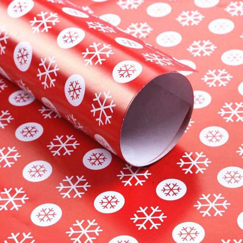 Красивая подарочная упаковка на Новый год