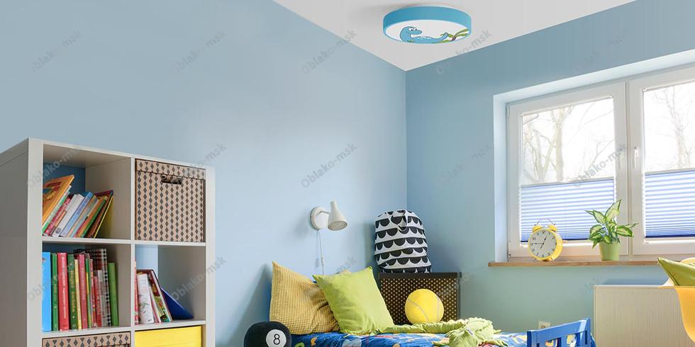Детский потолочный  светильник Динозаврик Xiaomi Yeelight LED Ceiling Light 320 мм RU EAC