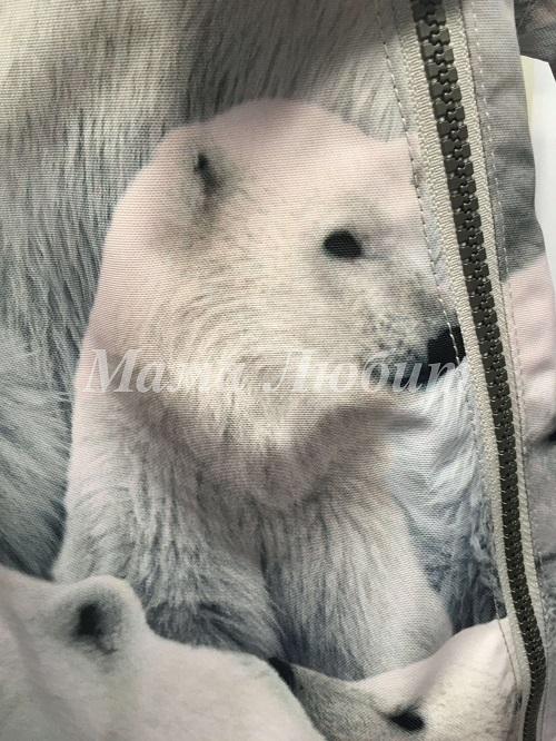 Molo комбинезон Pyxis Polar Bear с примеркой в интернет-магазине Мама Любит!