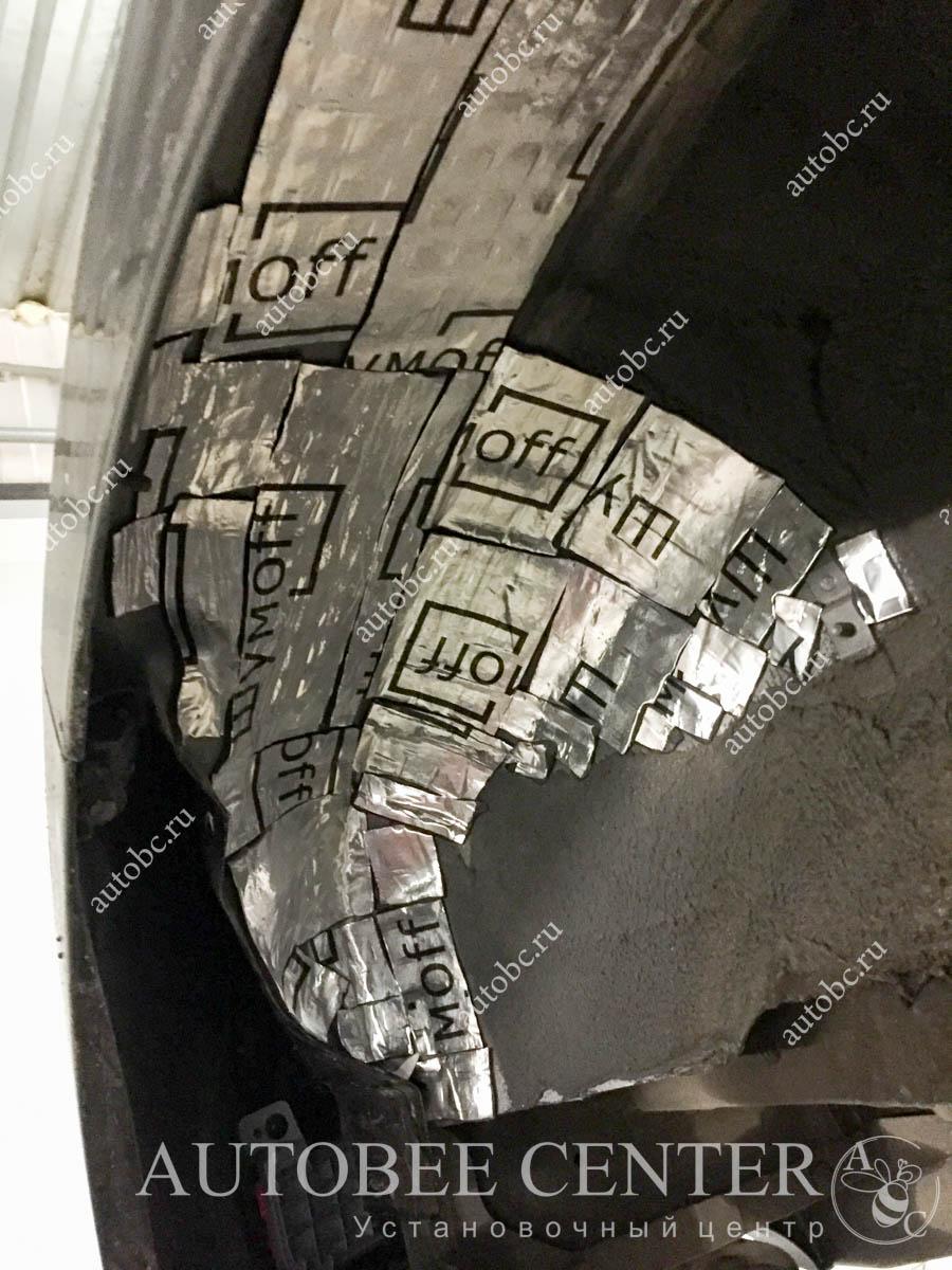 Kia Ceed SW(шумоизоляция колесных арок)
