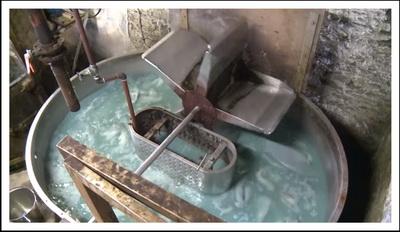 Ванна для работы со шкурами