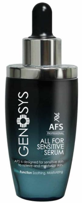 Сыворотка для чувствительной кожи Genosys All for sensitive serum AFS купить по лучшей цене в Москве