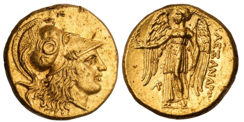 Статер Александра Македонского (334-323 годы до н.э.)