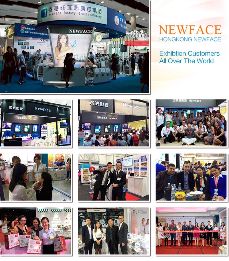 Представители компании Nova NewFace на выставках