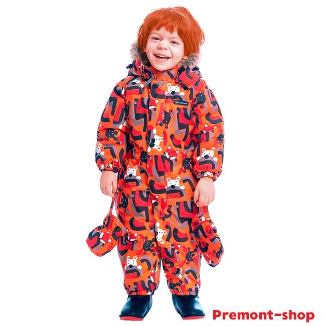 Комбинезон Premont Веселые истории Клиффорда Orange в наличии в интернет-магазине Premont-shop