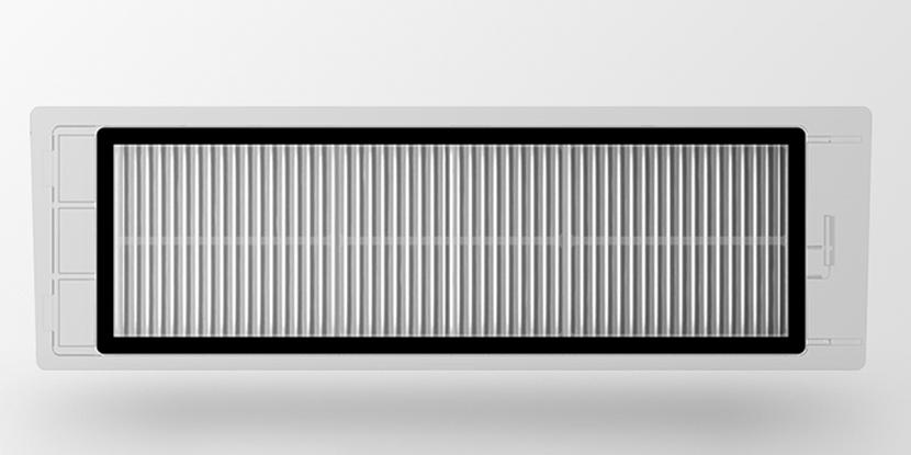 Воздушный моющийся фильтр для робота-пылесоса Xiaomi Mi Robot/Roborock (2 шт, белый) (SDLW04RR)