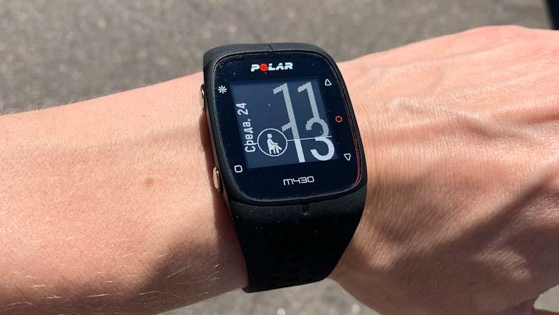 Спортивные часы Polar M430