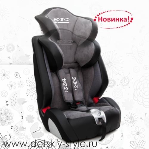 Детское автокресло Sparco f1000k новинка 2014 купить в магазине detskiy-style.ru