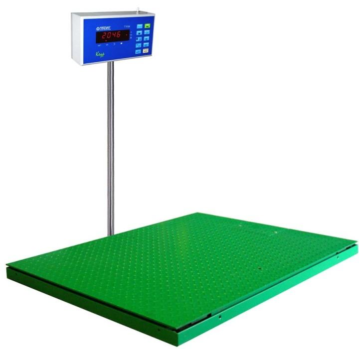 Платформенные складские весы с грузоподъёмностью до нескольких тонн