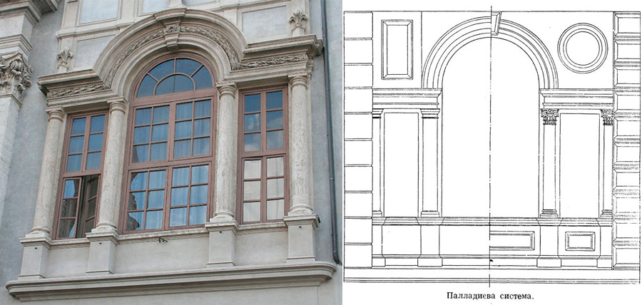 Палладиево окно