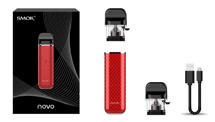 Комплектация SMOK NOVO Kit