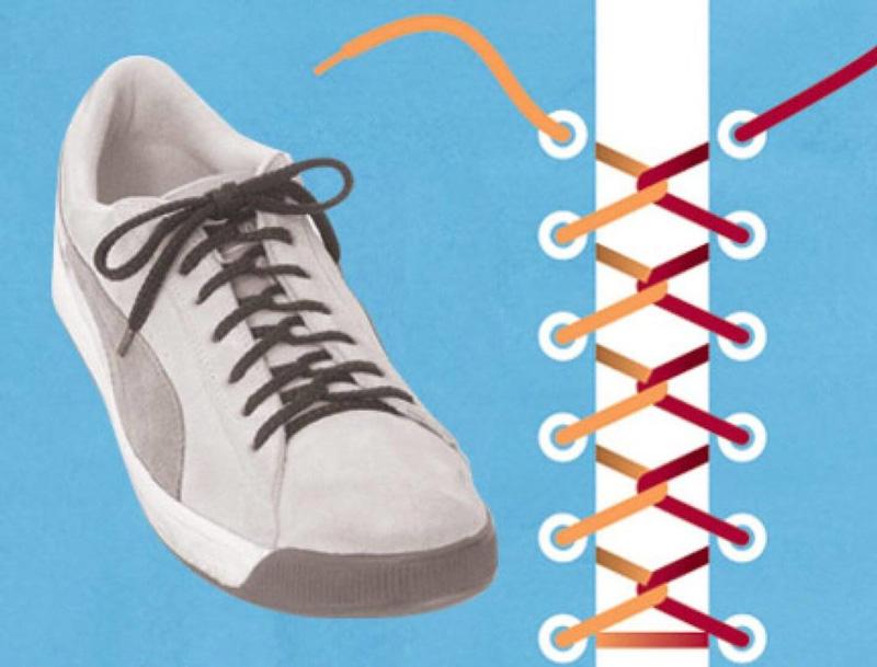 Как завязать шнурки - 5