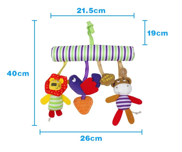 Игрушка-подвеска в коляску/кроватку Babybuzz