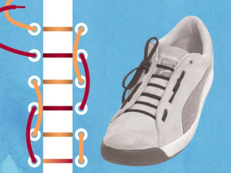 Как завязать шнурки - 7