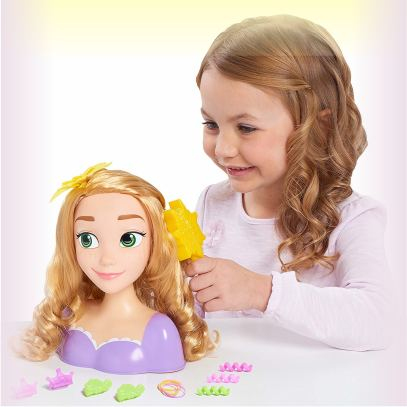 Голова для причесок Рапунцель для девочек