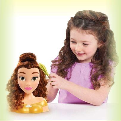 Детский набор - Голова для причесок Белль из серии Принцесса Диснея